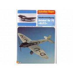 "Heinkel He 70 ""BLITZ"", Maqueta recortable"