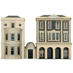 REGENCY PERIOD SHOPS and HOUSE, Superquick, 00 y H0