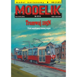 Tranvía 105N, MODELIK, 1:87 (H0)