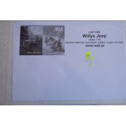 Jeep Laser frames, WAK, 1:25