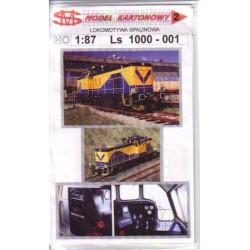 Locomotora Ls 1000-001, 1:87, H0