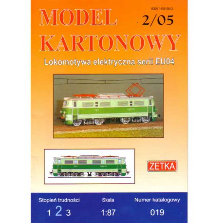 Locomotora serie EU04