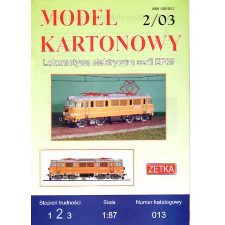 Locomotora serie EP08