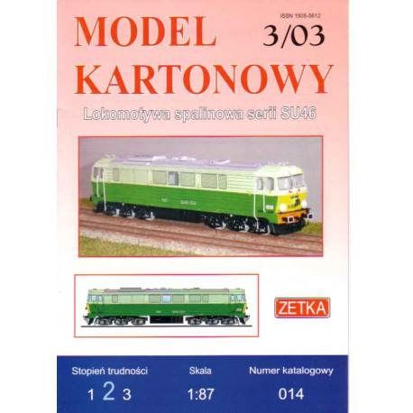 Locomotora serie SU46