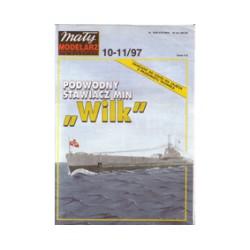 """Submarino """"WILK"""", 1:100."""