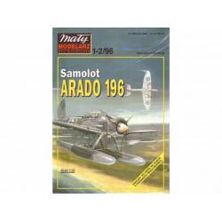 Card Model: ARADO 196, 1:33