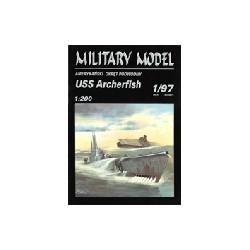 Submarino USS Archerfish, 1:200.