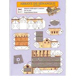 Abadía de Sénanque, Tarjetas Pre-recortadas.