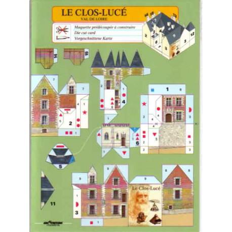 Le Clos-Lucé, Val de Loire, Tarjetas Pre-recortadas.