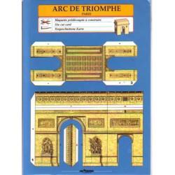 Arc de Triomphe, Tarjetas Pre-recortadas