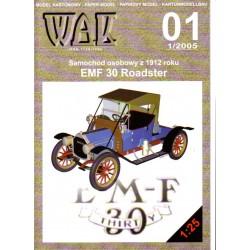 EMF 30 Roadster Studebaker 1912 1:25