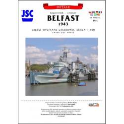 Laser Frames BELFAST, JSC, 1:400