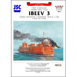 Laser Frames IBEEV 3, JSC, 1:100