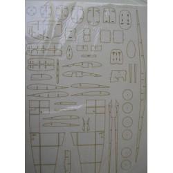 Spitfire IX C, Halinski, 1:33, Laser frames