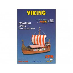 VIKING, 1:100. Maqueta recortable.