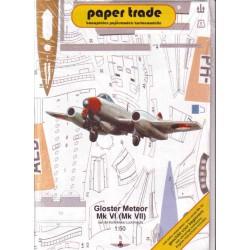 Gloster Meteor Mk VI (Mk VII) 1:50