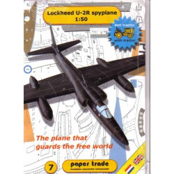 Lockheed U-2R Espionage Aircraft, 1:50