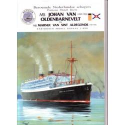 MS Johan van Oldenbarnevelt (1929-1963) 1:250