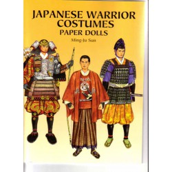 Japanese Warrior Costumes, Ming Ju Sun