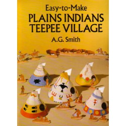 Plains Indians Teepee Village, Poblado Indio. A.G. Smith.