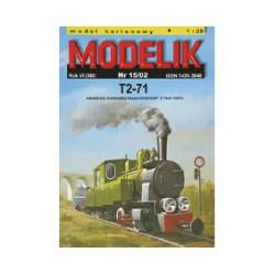 Locomotora de vapor T2-71, 1939. 1:25