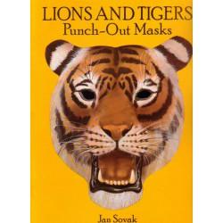 Máscaras de leones y tigres precortadas, Jan Sovak