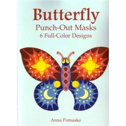 Máscaras de Mariposas precortadas