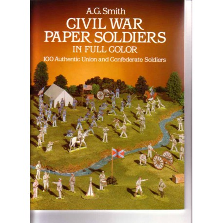 Soldados de papel de la Guerra Civil americana. A.G.Smith
