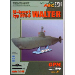 U-boot typ XVII-B WALTER, 1:100