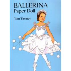 Bailarina, muñecas recortables para vestir, Tom Tierney.