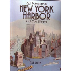 NEW YORK HARBOR, Diorama a todo color, A.G. Smith