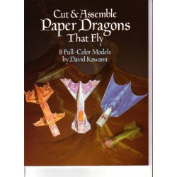 Paper dragons that Fly, 8 modelos a todo color, David Kawami.