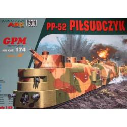 Tren blindado PP-52 Pilsudczyk de 1939. 1:25