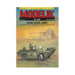 Ford G.P.A Jeep. Todoterreno anfibio americano. 1:25