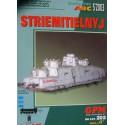 Striemitielnyj Tank Railcar 1:25