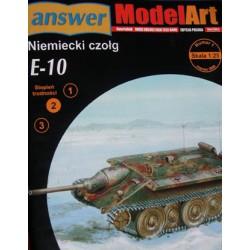 E-10, 1:25, ANSWER