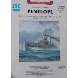 PENELOPE, JSC, 1:400, Laser frames.