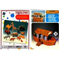 Arca de Noé con 12 animales salvajes