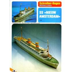 SS NIEUW AMSTERDAM, 1:400