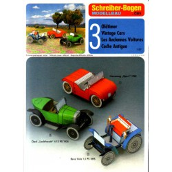 3 coches antiguos II, 1:50