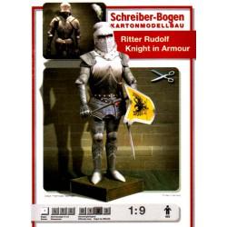 "Armadura de caballero, ""Ritter Rudolf"", 1:9"