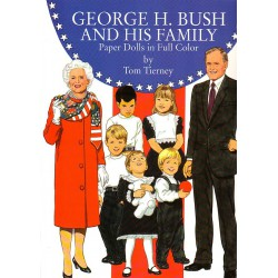 George H. Bush and his family. Tom Tierney
