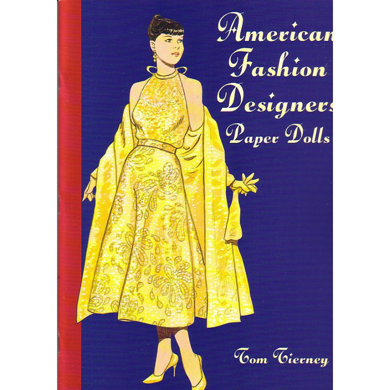 American Fashion Designers Tom Tierney Papel3d