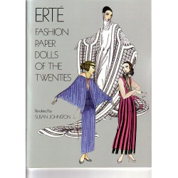 Erté, fashion of the twenties, Susan Jonston.