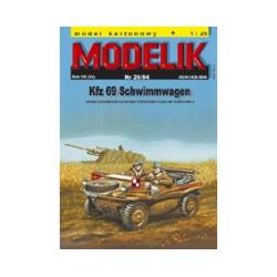 Kfz 69 Schwimmwagen 1:25