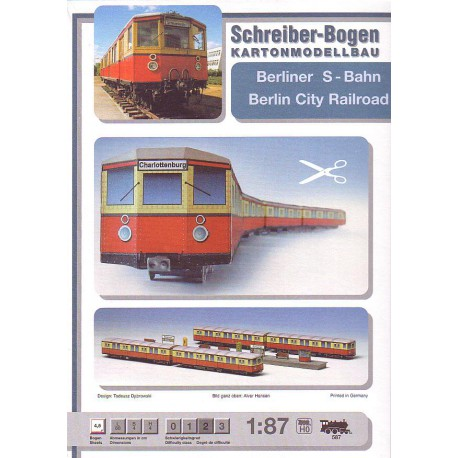 Metro berlinés, 1:87, HO, Modelismo ferroviario