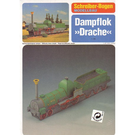 "Dampflok, ""Drache"", 1:45"