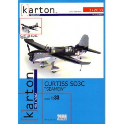 "CURTISS SO3C ""SEAMEW"", 1:33, EMA2000"
