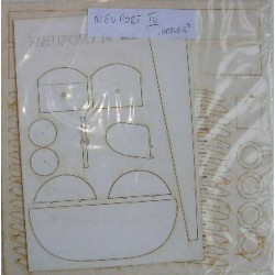 NIEUPORT IV, 1:33, ANSWER, Laser frames, estructura