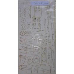 JAK 1-B, 1:33, ANSWER, Laser frames, estructura